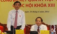 Conferencia de prensa internacional sobre resultados de las concluidas sesiones parlamentarias