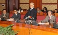 Urge secretario general del PCV la elaboración de Documentos del duodécimo Congreso del Partido