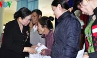 Jefa del Departamento de Movilización Popular del Partido visita Quang Nam