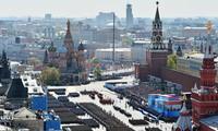 Desfile militar de mayor calibre en Rusia por la victoria frente al nazismo alemán