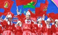 Celebran fundación de Unión de Pioneros Ho Chi Minh