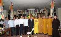 Enaltecen contribución de la Sangha Budista de Vietnam en desarrollo nacional