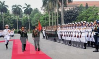 Fomentan Vietnam y Brunei cooperación militar por la paz