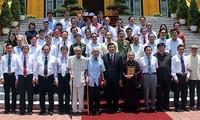 Alaba el presidente vietnamita papel y aportes de la prensa nacional