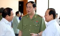 Diputados vietnamitas con proyecto de Ley Orgánica del Servicio de Investigación Penal