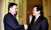 Presidente vietnamita aboga por profundizar relaciones con localidad rusa