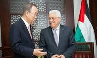 Presidente palestino llama a la protección de la ONU