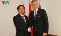 Cancilleres asiáticos y europeos aprecian ideas vietnamitas para ASEM