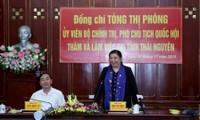 Vicepresidenta parlamentaria exhorta a promover los valores étnicos de Thai Nguyen
