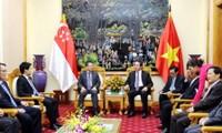Vietnam y Singapur profundizan cooperación en seguridad