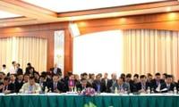 Se efectúa X Conferencia del Triángulo de Desarrollo Vietnam -Laos -Camboya