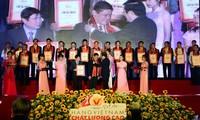 Reconocen a 500 empresas proveedoras de productos vietnamitas de alta calidad