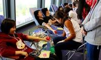 Se sigue promoviendo la donación de sangre en Vietnam