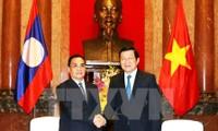 Vietnam y Laos buscan elevar a 3 mil millones de dólares el intercambio comercial