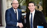 Bélgica y Francia buscan intensificar cooperación contra terrorismo