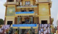 Cumple 90 años de existencia la religión de origen vietnamita
