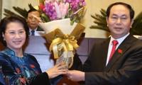Altos dirigentes mundiales felicitan a nuevos líderes de Vietnam