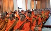 Presidente del Frente de la Patria de Vietnam aprecia contribuciones de la comunidad jemer