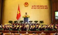Parlamento vietnamita aprueba nuevo gabinete ministerial