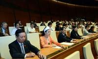 Parlamento vietnamita continúa liberación de cargos de dirigencia