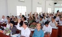 Ultiman listas de candidatos a la Asamblea Nacional de Vietnam y Consejos provinciales