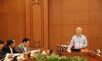 Preside líder partidista de Vietnam reunión del Comité anticorrupción