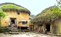 Casa tradicional de la etnia Ha Nhi