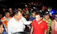 Rafael Correa visita las zonas más afectadas por el terremoto