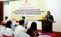 Taller de entrenamiento para campaña electoral de candidatos étnicos