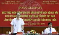Trazan medidas para responder al cambio climático en Vietnam