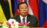 Prensa vietnamita exalta visita del presidente de Laos
