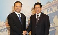 Vice premier vietnamita se reúne con líder partidista de provincia china de Guangxi