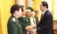 Ex soldados y expertos militares vietnamitas en Laos por la consolidación de los lazos bilaterales