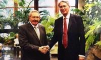 Cuba y Gran Bretaña abogan por afianzar cooperación multifacética