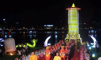 Se celebra por primera vez rito de iluminación de inteligencia budista en Festival de Hue