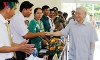 Líder partidista elogia esfuerzos hacia el desarrollo sostenible