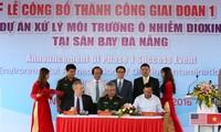 Anuncian positivos resultados del tratamiento de tierras afectadas de dioxina en Da Nang