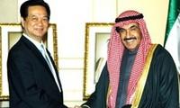 Vietnam y Kuwait consolidan lazos bilaterales de cooperación multisectorial