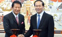 Destaca presidente vietnamita avances en relación con Japón