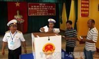 Celebran elecciones con 7 días de anticipación en varias localidades vietnamitas