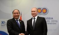 Vietnam concede gran importancia a la asociación estrategica integral con Rusia