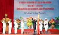 Conmemoran aniversario 70 de fundación de la Seguridad Popular vietnamita