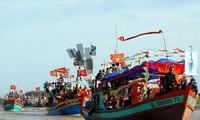 """Festividad de """"Nghinh Ong"""" de Ben Tre reconocida como patrimonio cultural intangible nacional"""