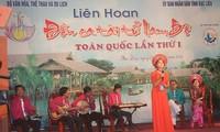 "Escuchar el ""don ca tai tu"" en Kien Giang"