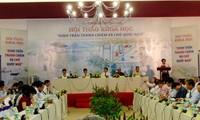 Resaltan posición del Palacio de Thanh Chiem y escritura vietnamita en un simposio