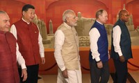 Arranca octava Cumbre de BRICS en India