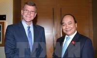 Primer ministro vietnamita recibe a vicepresidente del Banco Asiático para el Desarrollo