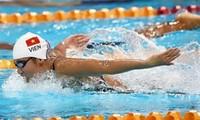 Atleta vietnamita gana cuatro medallas en Campeonato de Natación de Asia
