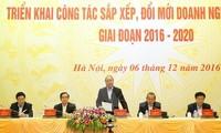 Primer ministro de Vietnam exige aceleración de privatización de empresas estatales