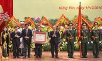 Provincia de Hung Yen recibe Orden de Trabajo